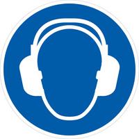 Gebotschild Gehörschutz