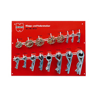 Linch pin and spring cotter pin assortment