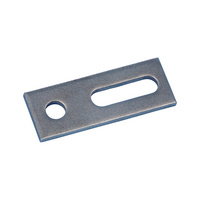Adapter plate, A2 stainless steel