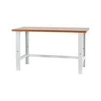 Work table BASIC, height-adjustable