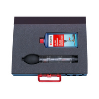 CO<SUB>2</SUB> leakage tester set