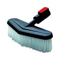 Plug-on wash brush