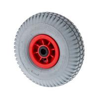 Пневматическое колесо с пластик. ободом