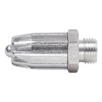Safety noise control nozzle
