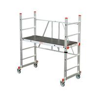 Folding roller scaffold