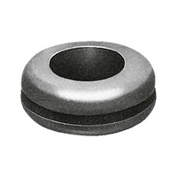 Cable grommet, double-sided