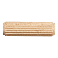 Serrated dowel