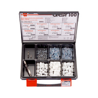 Invisible fixing screws ORSY<SUP>®</SUP>100-pc assortment