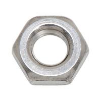 Hexagonal nut, low profile