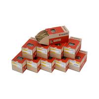 ASSY<SUP>®</SUP> 3.0 gelb verzinkt, Vollgewinde, Senkfrästaschenkopf Paket ∅ 6,0 mm