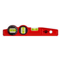Light metal spirit level