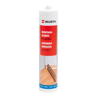 Assembly adhesive, solvent-free