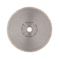 Disco de corte diamantado para cerâmica e grés