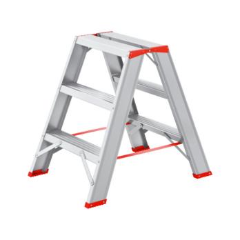 Alu-Stufenstehleiter 2x3 Sprossen