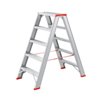 Hliníkový   dvojitý rebrík