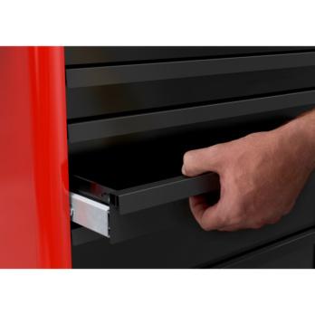 Einhandentriegel-ung und Schubladen-einzelverriegelung