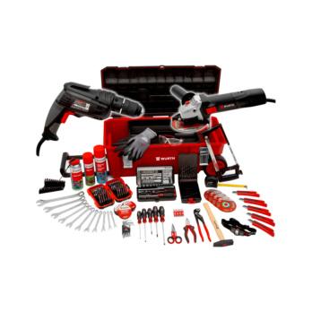 Kit di utensili in carrello, 152 pezzi