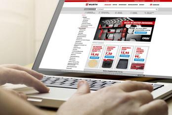 Die richtigen Badelemente im Würth-OnlineShop