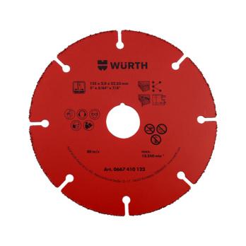 DISCO CORTE HM RED 125mm