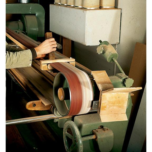 Pulitore nastro abrasivo for Pulitore di cabina