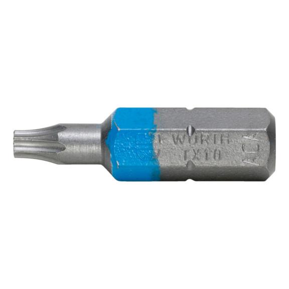 TX bit - BIT-TX10-BLUE-1/4IN-L25MM
