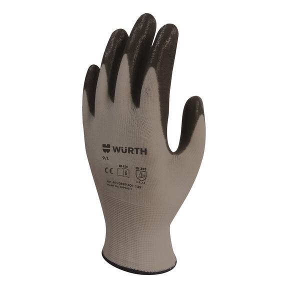 İş güvenliği eldiveni, özel tasarım, diğer - İŞ GÜVENLİĞİ ELDİVENİ MEKANİKÇİ SİYAH 10