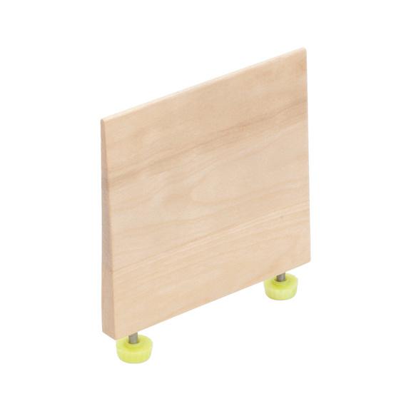 Trennbrett Für Lochplatte Holz Zb Besteckeinsa Birke 126mm