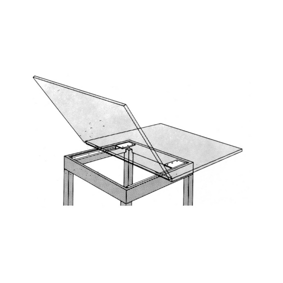 Guida per tavolo allungabile con apertura laterale (0684080166)| Würth