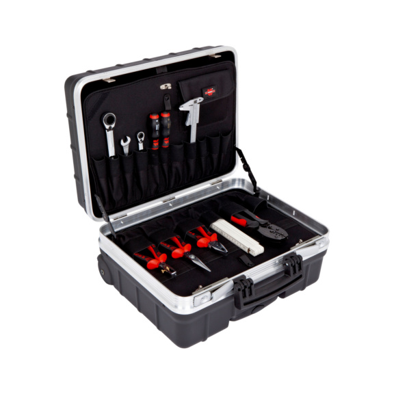 Mala p/ferramentas c/rodas, mala assist. poliprop. - MALA FERRAMENTA EXTREME C/ RODAS