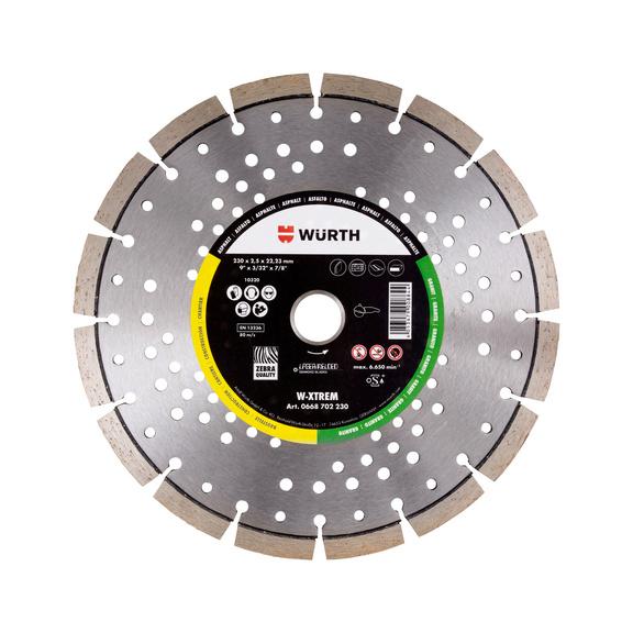 Disque diamant W-Xtrême - 1