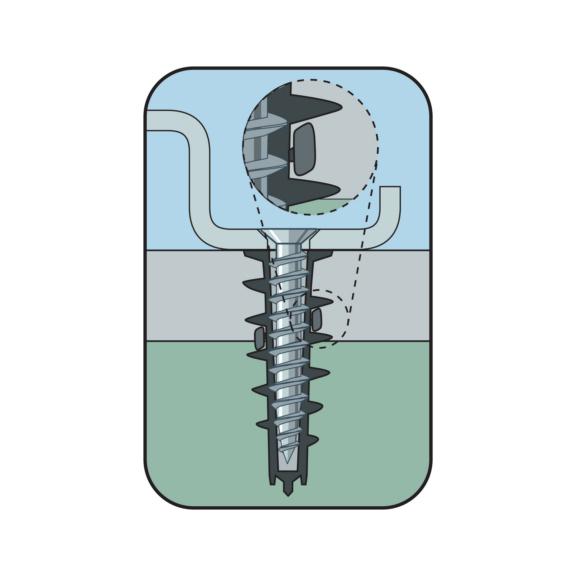 Plasterboard plug W-GS Type ZD - DWL-(W-GS/Z)-ZD-14,5X33