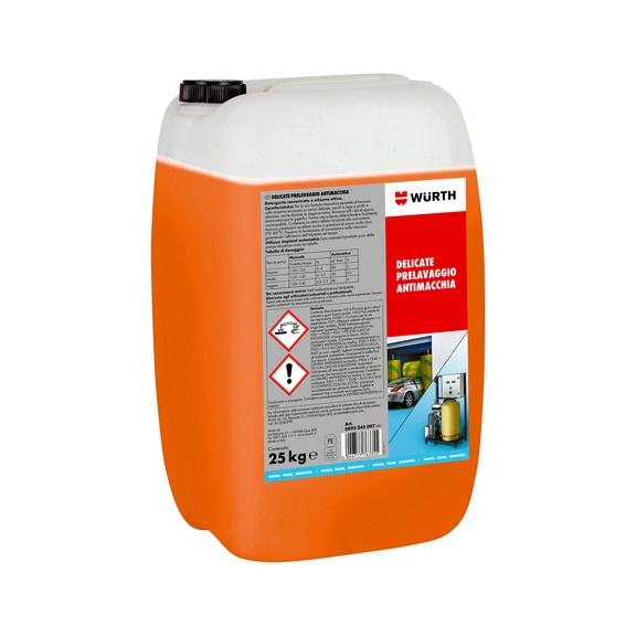 Detergente concentrato Shampoo attivo - DELICATE-PRELAVAGGIO-ANTIMACCHIA-25KG