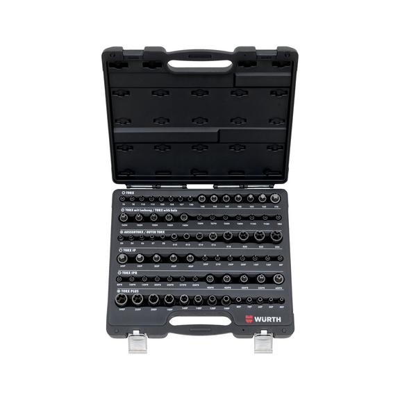 Assortiment TX dopsleutels 1/4-inch, 3/8-inch en 1/2-inch - 1