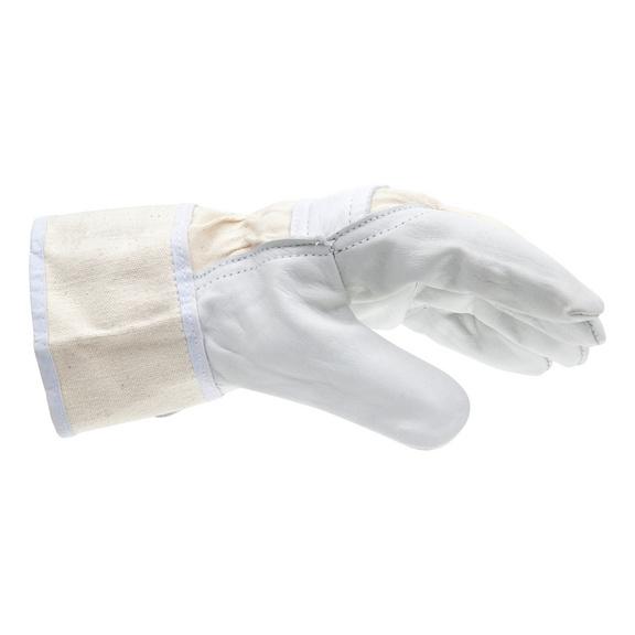 Robuuste handschoen volnerf rundleder