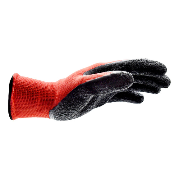 Protective glove Red Latex Grip - 1