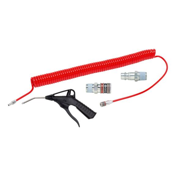 Druckluft Starterset wSafe 4-teilig - STARTSET-DL-(WSAFE 2000)-4TLG