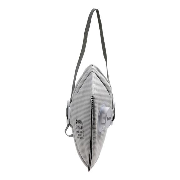 Półmaska składana FM 3000, wkład węglowy V FFP2 NR D - MASKI JEDNORAZOWE FM3000-FFP2-CARBON