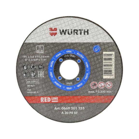 切割片 - 切割片-蓝色-碳钢-TH2,5-BR16,0-D100MM