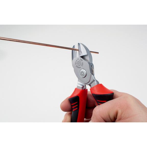 Heavy-duty side cutters, reversible  - HDSDCTR-L200MM-SWITCHABLE