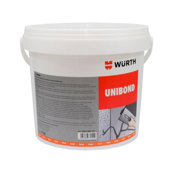 Adesivo elástico UNIBOND - UNIBOND-ADESIVO ELASTICO IMPERM. 5KG