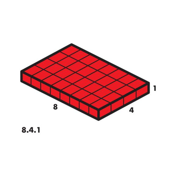 Systémový kufr prázdný 8.4.1 transparentní - 2