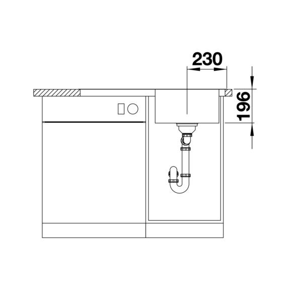sp le blanco divon ii 45s if online kaufen. Black Bedroom Furniture Sets. Home Design Ideas