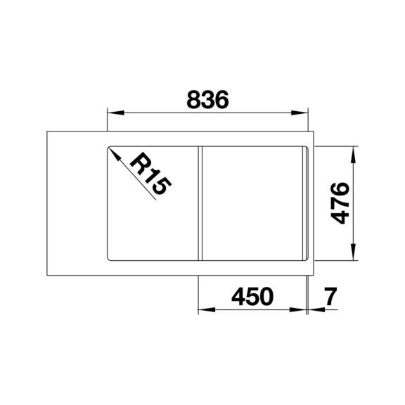 sp le blanco lantos 45s if salto w rth. Black Bedroom Furniture Sets. Home Design Ideas