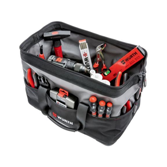 Sac à outils av fond plastique et sangle d'épaule - SAC A OUTILS