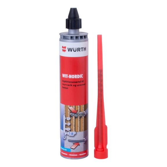 Kemisk forankringsmørtel WIT-NORDIC - WIT NORDIC, 300 ML