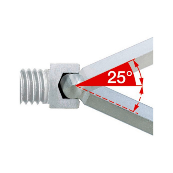 Alyan anahtarı seti, altıköşe lokma - ÇAKI ALYAN ANAHTAR SETİ-TOPUZ(2-8MM)7P.