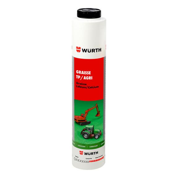 Graisse lubrifiante multi-usage, engins chantier  - 1