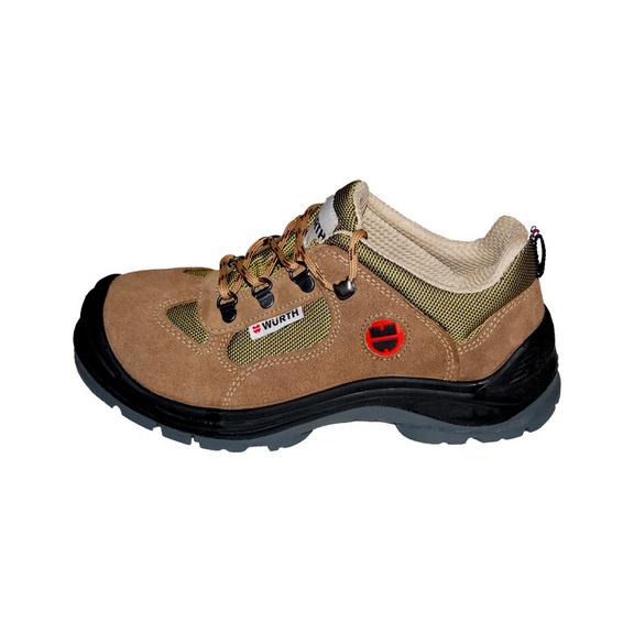 S1-P iş güvenliği ayakkabısı süet Bej - 1