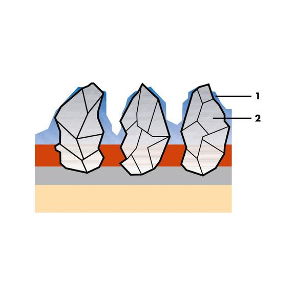 Segmentovaný brúsny kotúč na oceľ/nehrdzavejúcu oceľ Dlhá životnosť - 0