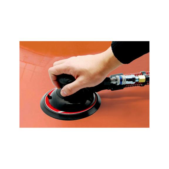 Pneumatic eccentric rotary sander Vacuum DTS 150 - RANORBSNDR-PN-NPT-DWSH150-12000RPM-280W